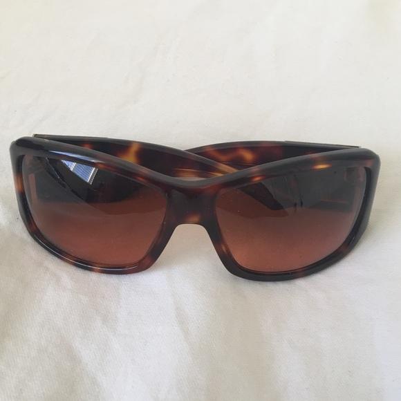 b267ab82c8e0 Dior Accessories   Christian Brown Rectangular Sunglasses   Poshmark